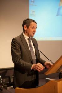 Thierry Mandon, Secrétaire d'État chargé de l'Enseignement Supérieur et de la Recherche © B de DIESBACH/DICOM/MJ