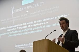 Morgan Sweeney-Maître de conférences en droit-Université Paris-Dauphine « La définition jurisprudentielle des motifs de discrimination prohibée : approches françaises et européennes »