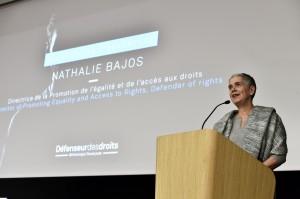 Nathalie Bajos-Directrice de la Promotion de l'égalité et de l'accès aux droits-Défenseur des droits Allocutions d'ouverture