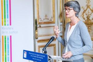 Valérie SAGANT, directrice de la Mission de recherche Droit et Justice. ©MJ/Dicom/Joachim Bertrand