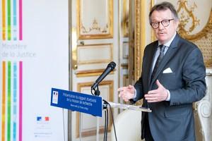 Loïc CADIET, Président du Conseil Scientifique de la Mission de recherche Droit et Justice. ©MJ/Dicom/Joachim Bertrand